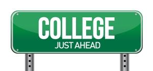 bigstock-College-Just-Ahead-Green-Road-40421977