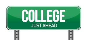 bigstock-College-Just-Ahead-Green-Road-40421977